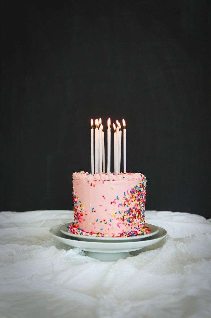 Tarta de Cumpleaños de Leche / Malted Milk Birthday Cake