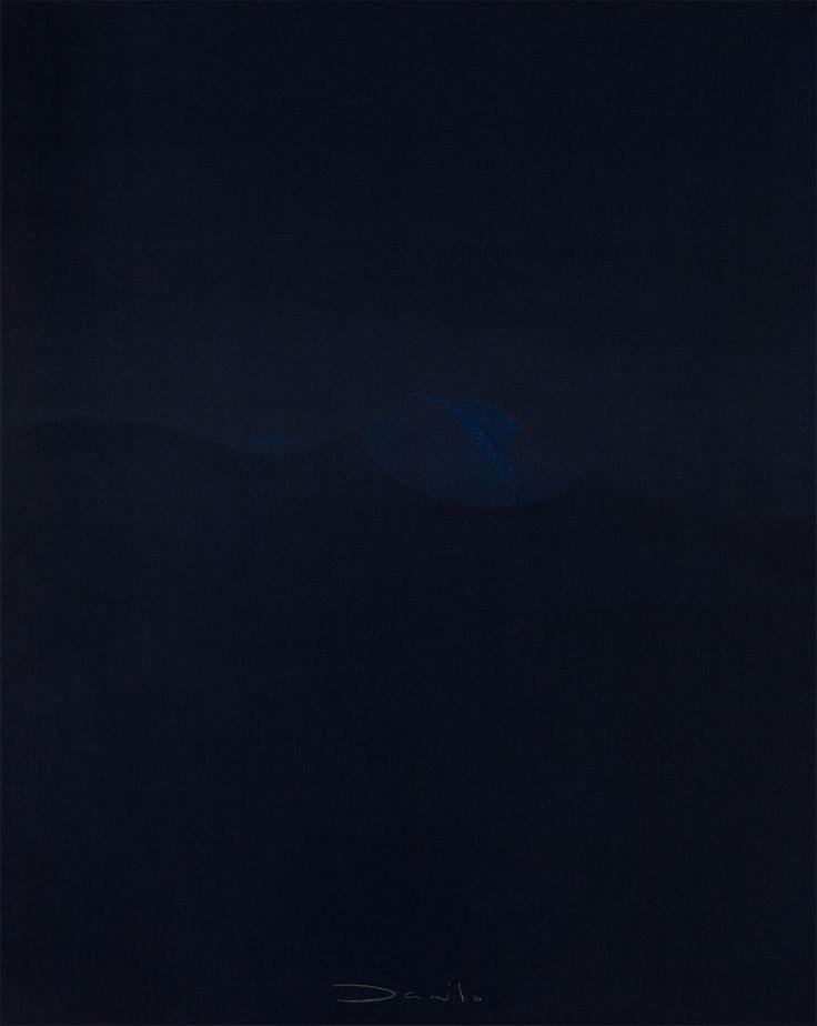Danilo Rojas - al mar #danilorojas #danilorojasart #mysignatureOneDot #painter #contemporaryart #artist #art #arte #artecontemporaneo #silence #blue
