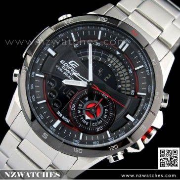 BUY Casio Edifice Chronograph Super Illuminator Thermometer Compass Sport Watch ERA-200DB-1A, ERA200DB - Buy Watches Online | CASIO NZ Watches