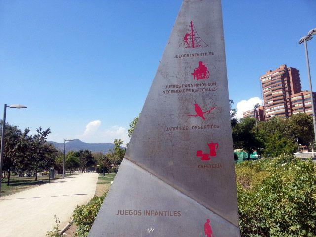 Parque Bicentenario. Santiago de Chile