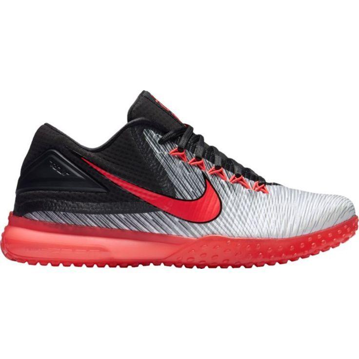 Nike Men\u0027s Air Zoom Trout 3 Turf Baseball Shoes, Size: 16, White