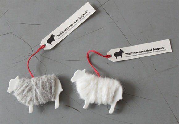 DIY Sheep Gift Tags leuk voor het voorjaars cadeautje