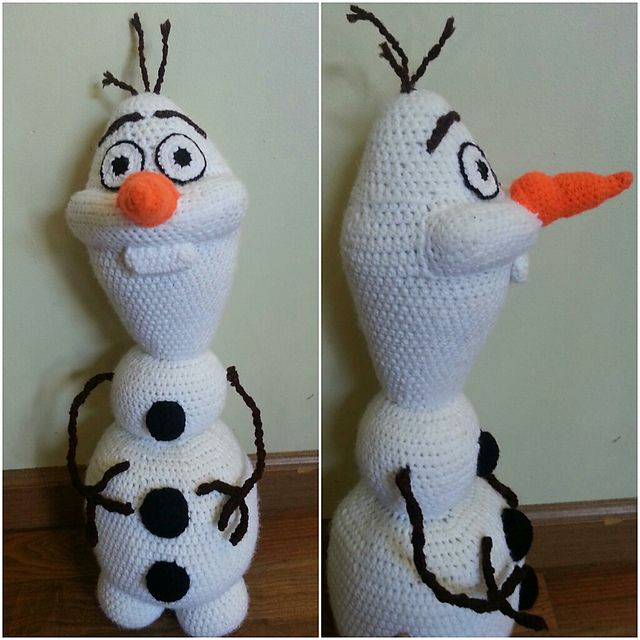 Knitting Pattern For Olaf The Snowman : 17 Best images about Knit toys on Pinterest Yarns, Doll ...
