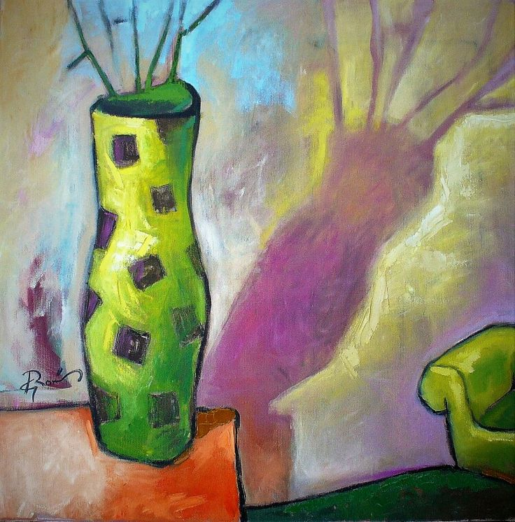 Vaza verde