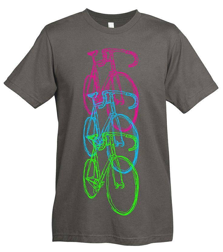 Bike t-shirt. #bikeshirt BIKE BIKE BIKE! Because one bike is never