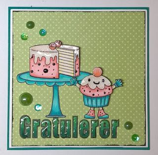 LivArtNow your next stamp cards, cute foodies, Love Chocolate