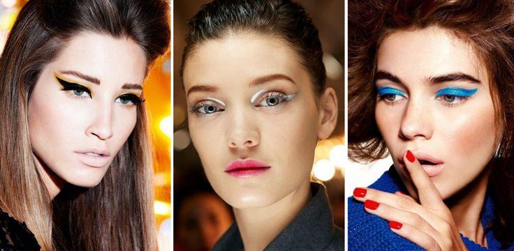 Trucco punk: ecco il nuovo trend make-up di ispirazione Seventies
