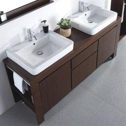 Streamlined, spa-like, modern bathroom vanities