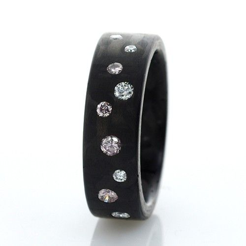C6 Pink Argyle 6mm Ring Exclusively Available @ Campbell Jewellers Donnybrook & Citywest Dublin Ireland