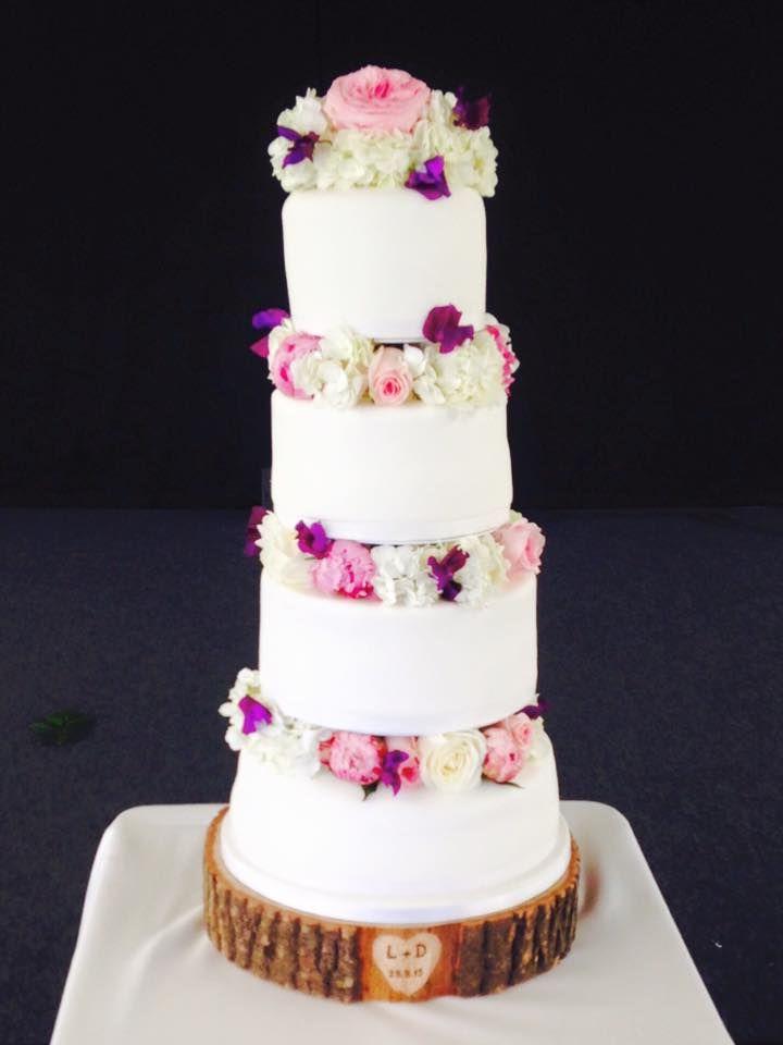 Wedding Cake Decorated By Fishlocks