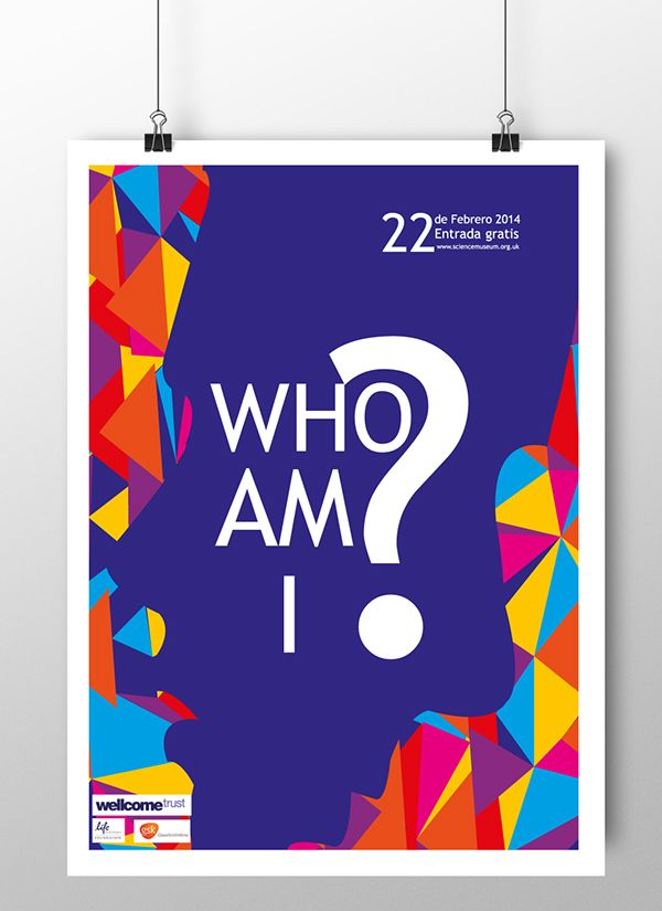 who am i? on Behance  pieces created from a museum event, shown in class // piezas creadas a partir del evento de un museo, muestra en clase.