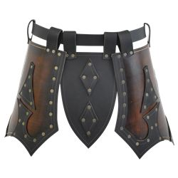 Leather Cuisse, Leather Thigh Armor, and SCA Cuisse armour from ...