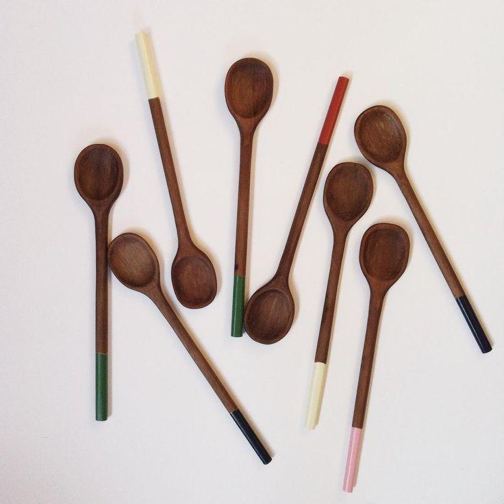 Wooden spoons by MEKKA