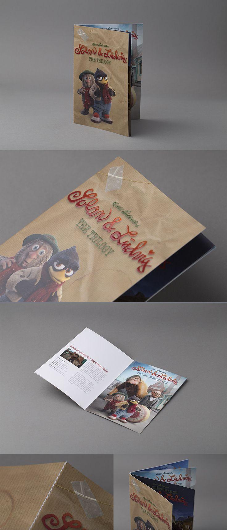 Brosjyre med spotlakk på omslaget. #brosjyre