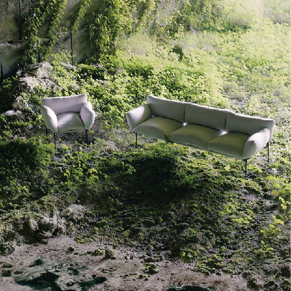 Divano Elisa outdoor - design Enzo Mari - Driade