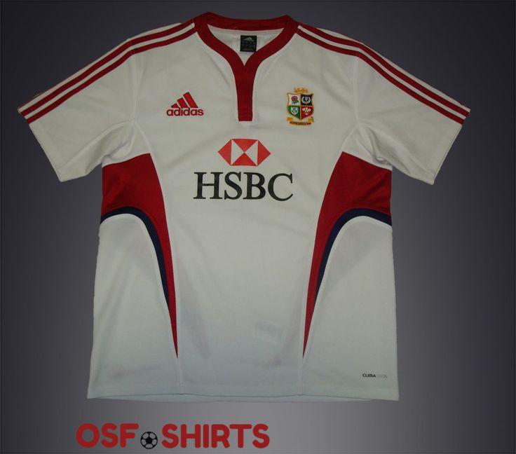 BRITISH & IRISH LIONS Training 2009 (L) Adidas Rugby Union Shirt  Jersey  #Adidas #BritishIrishLions