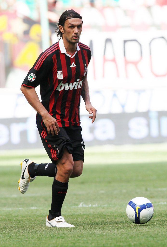 Paolo Maldini Photos - AC Milan v AS Roma - Serie A