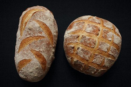 cuketka - domácí grissini nebo bílý chléb