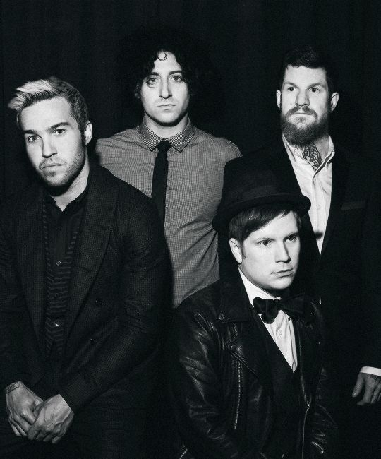 miserydesigns:    Fall Out Boy by Amy Harrity