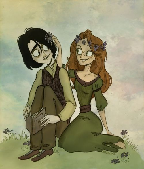 severus and lilly <3