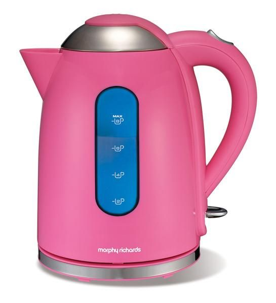 Pink Morphy Richards Electric Kettle 17L