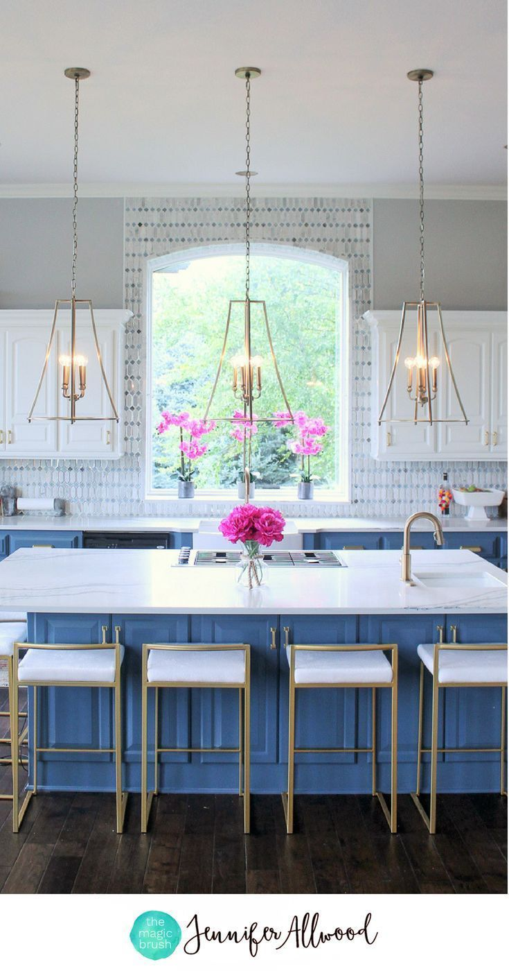 Gold Kitchen Lighting That Has Me Totally Obsessed Lighting Fixtures Kitchen Island Kitchen Accessories Decor Kitchen Island Lighting