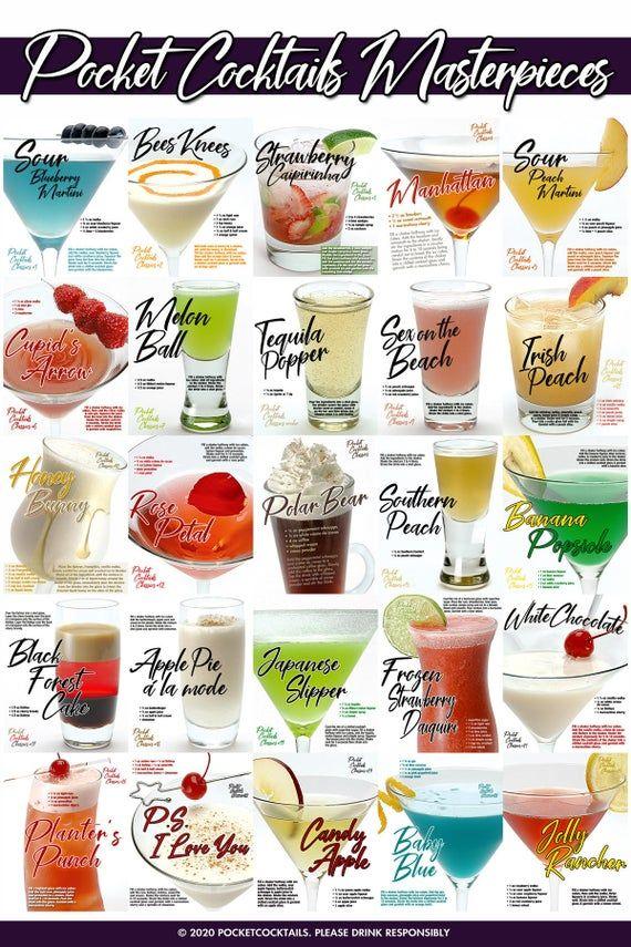 Halloween 2020 Dopper Pocket Cocktails Masterpieces Drink Collection   Digital Download