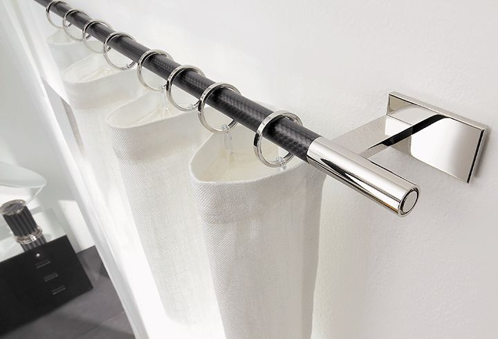 Window Curtain Rod Hardware for Modern Designs