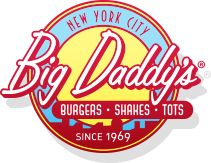 Big Daddy's Burgers, Shakes & Tots. Upper East Side, Upper West Side, and Flatiron Locations.