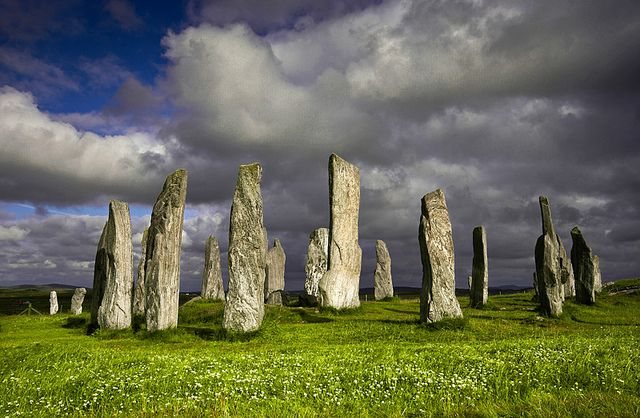 The Standing Stones Of Callanish, Isle Of Lewis ☙ stone circles ❧