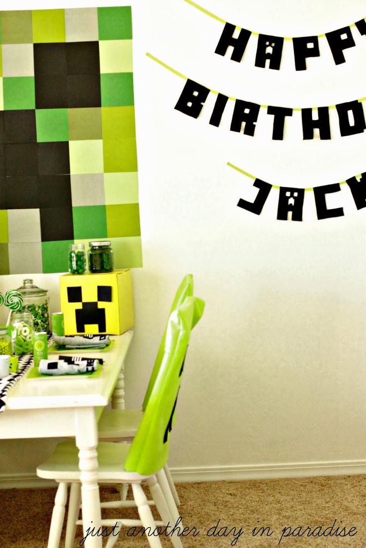 56 best Minecraft images on Pinterest | Birthdays, Birthday ...