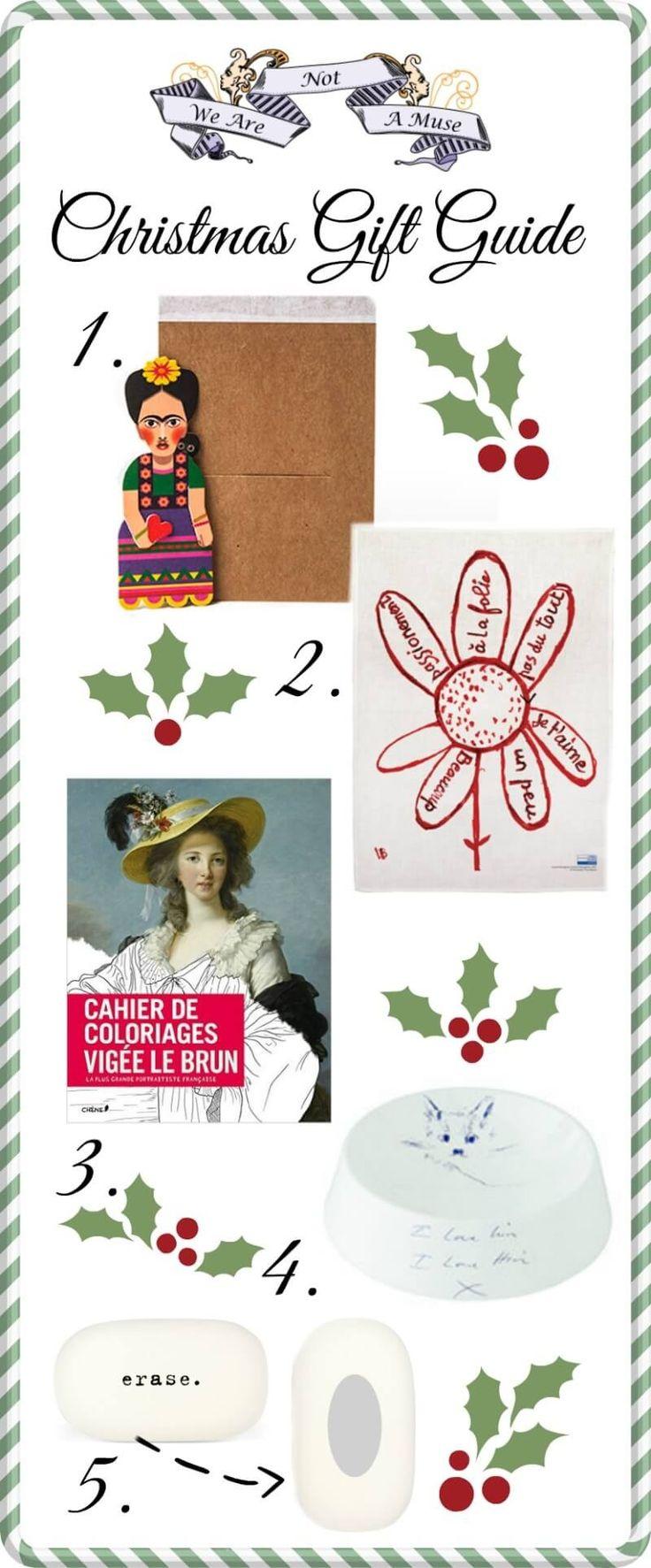 Gift Guide for Art Lovers 2015