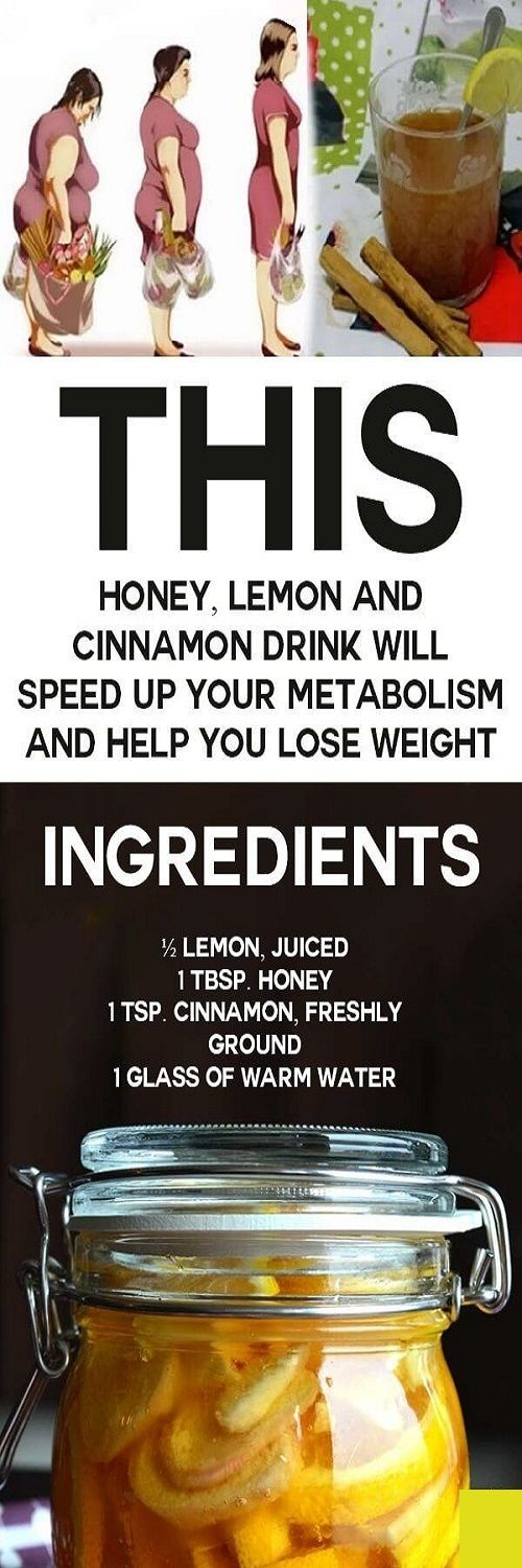 THIS HONEY, LEMON AND CINNAMON BASED DRINK WILL SPEED UP METABOLISM AND HELP YOU LOSE WEIGHT