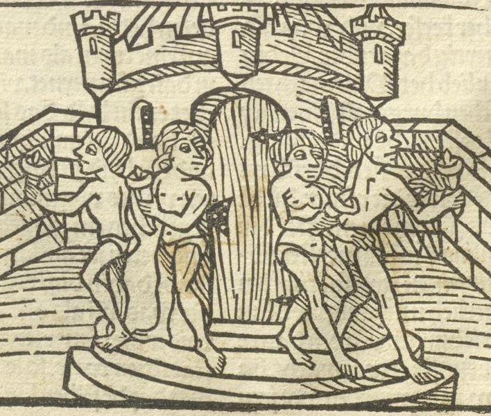 Sammelband in 3 Teilen: Konvolut aus Inkunabeln nach 1450, Deutschland Inc. fol. 133 (Ausst. 172)  Folio 24v