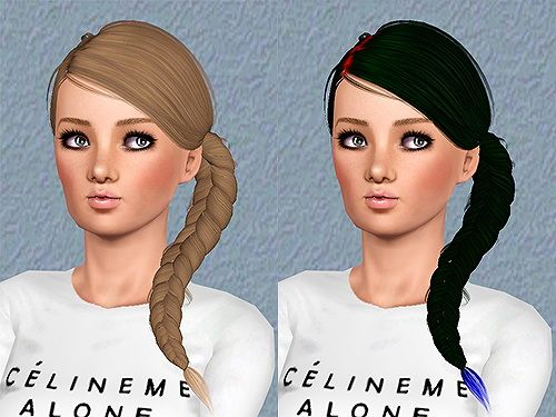 Ulker Hairstyle 15 retextured by Chantel for Sims 3 - Sims Hairs - http://simshairs.com/ulker-hairstyle-15-retextured-by-chantel-2/
