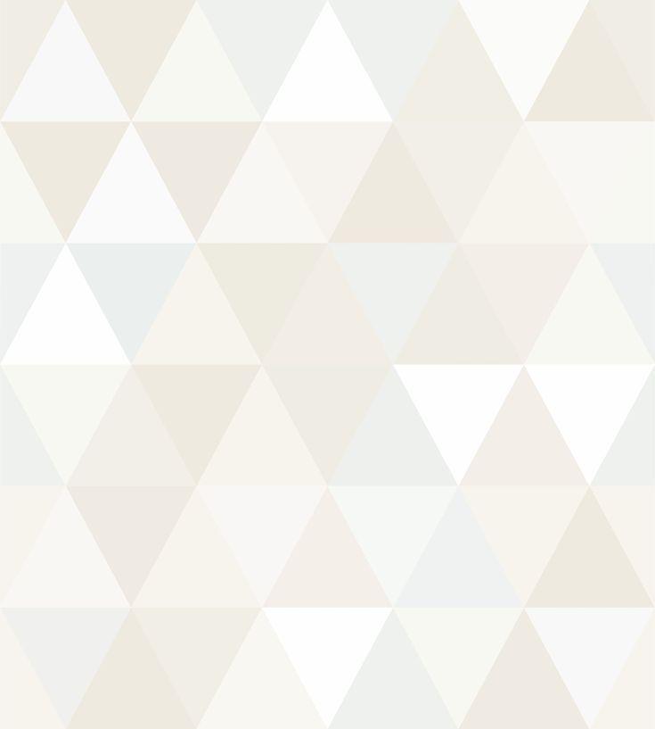 Image Result For Papel De Parede Geometrico Triangulos Bege