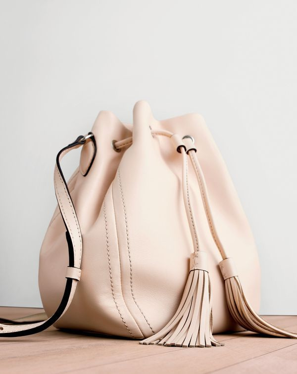 Pinterest @esib123    J.Crew women's smooth leather bucket bag. To pre-order, call 800 261 7422 or email verypersonalstylist@jcrew.com.