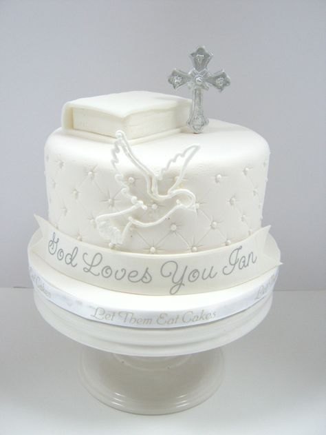 First Communio N Cake Design