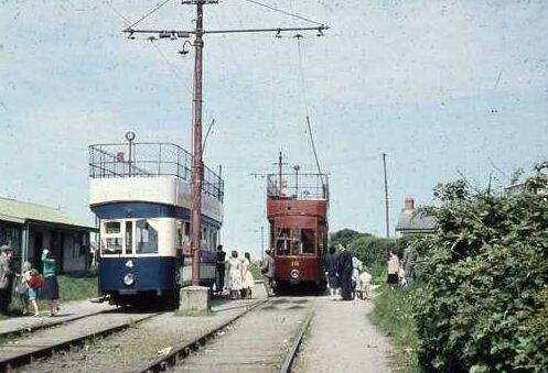 Dublin trams.