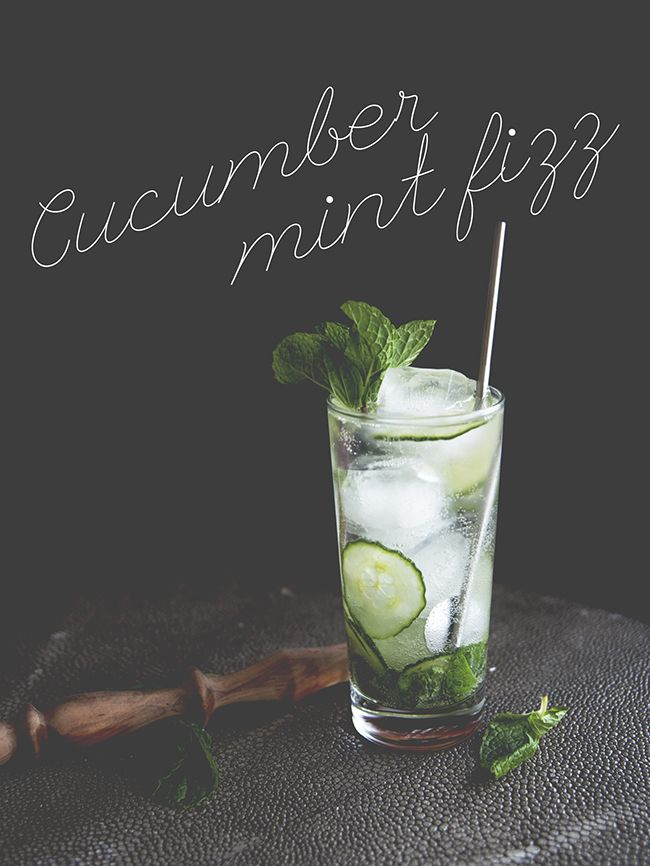 YASSSSSSSSS. That's the sound my brain makes when I drink this cocktail. It's basically a southside, plus a little bit of extra. Throw in some mint for extra freshness, pour in some club soda to make it fizz, and you've got yourself the ultimate hot weather drink. Just throw down a towel, grab a straw, and soak in the sun.   INGREDIENTS 2 ounces gin (or vodka) 1/4 cup sliced cucumber 5 mint leaves 1 tablespoon simple syrup 3 ounces club soda DIRECTIONS Muddle together all of the ingredients…
