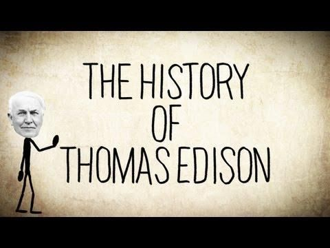 the interesting life of thomas alva edison and his many great inventions Thomas edison electric light bulb many of his over one thousand inventions have profoundly changed the lives of nearly everyone in the world thomas alva edison.