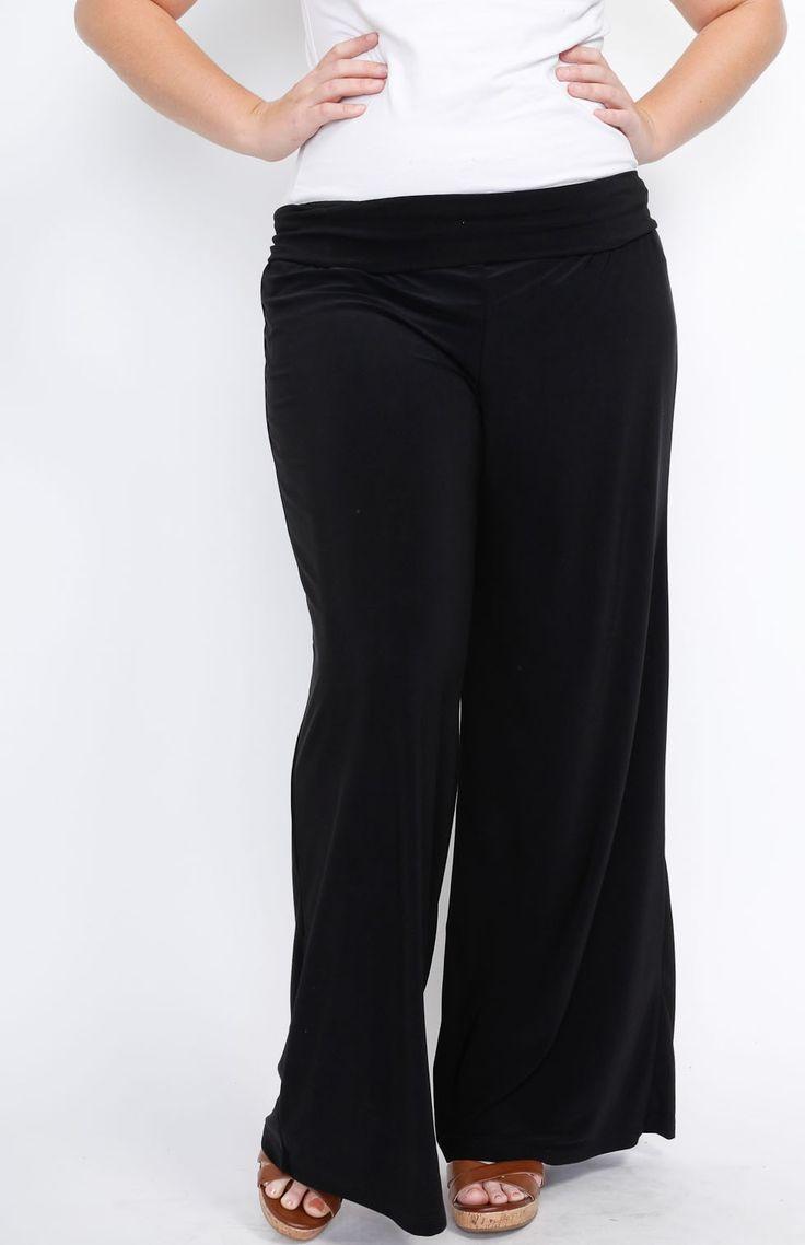 Plus size pants avaliable at fashionpopboutique.com