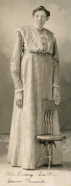 Ella Ewing lived from 1872-1913. She was from the northeast Missouri town of Gorin.