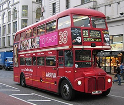 The London Routemaster bus
