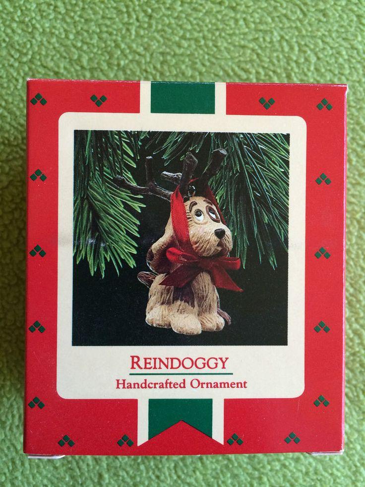 Hallmark Ornament, 1987, Reindoggy
