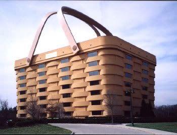 The picnic basket building in Newark, Ohio