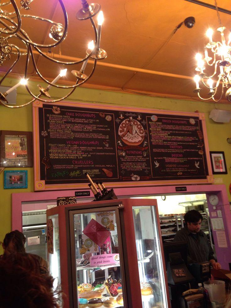 Voodoo donuts menu