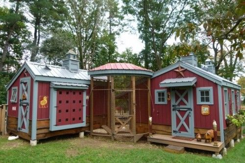 Chicken Coop - - - way to go crafty farm girl! chicken