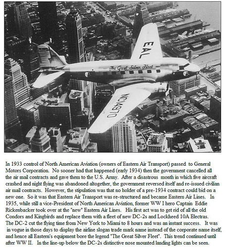 Eastern Airlines Douglas DC-2