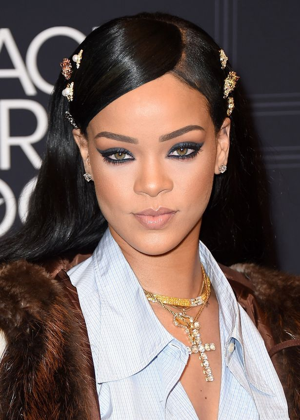 Singer Rihanna attends Black Girls Rock! 2016 on April 1, 2016 in New York City